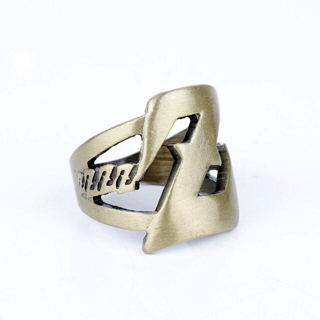 Anime Dragon Ball Jewelry Rings Cosplay  LOGO Z Pattern Finger Ring