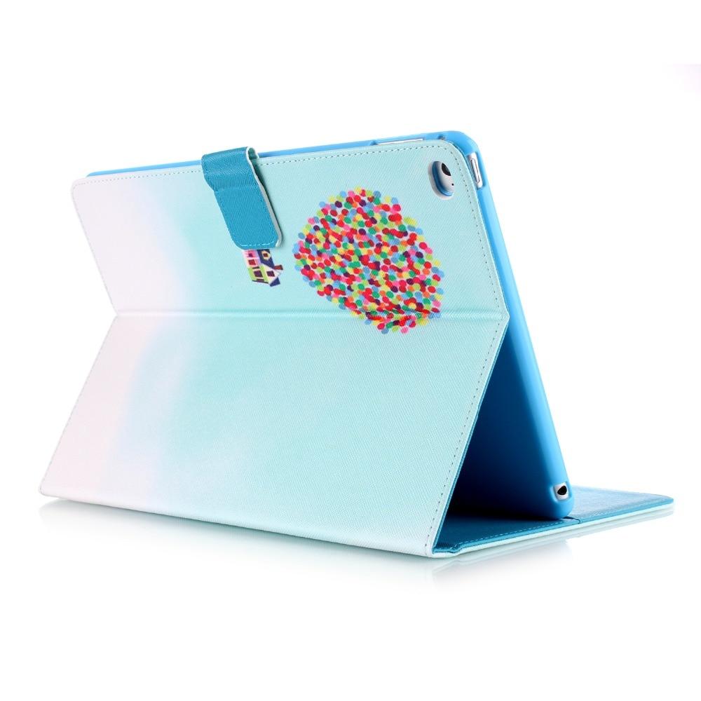 Cartoon Balloon Tower Protective Cover For iPad Air 2 iPad 6 9.7 inch A1566 A1567 Smart Sleep Wake Up Tablet Case For iPad Air 2