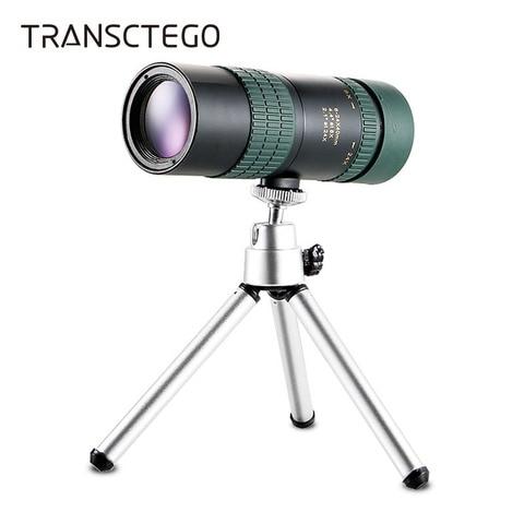 Escopos de Visão Noturna à Prova Monocular com Adaptador de Telefone Observação de Aves de Caça Água Mini Monocular Telescópio Tripé Caminhadas 8-24×30 d'