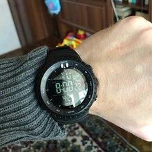 OTS Led водонепроницаемые спортивные часы модные повседневные спортивные наручные часы для дайвинга военные электронные цифровые армейские мужские часы