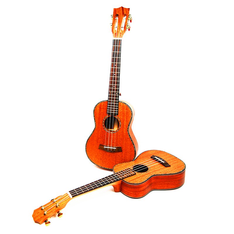 23 Quot Concert Ukulele Small Guitar All Solid Wood 4 String