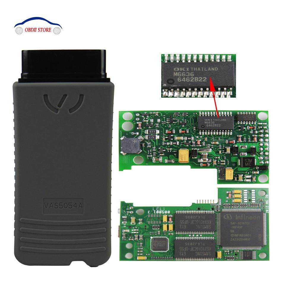 VAS5054A OKI VAS 5054A ODIS v4.1.3  OBD2 Car Diagnostic Scanner VAS5054 Vas 5054 Full Chip OBDII Diagnostic-Tool