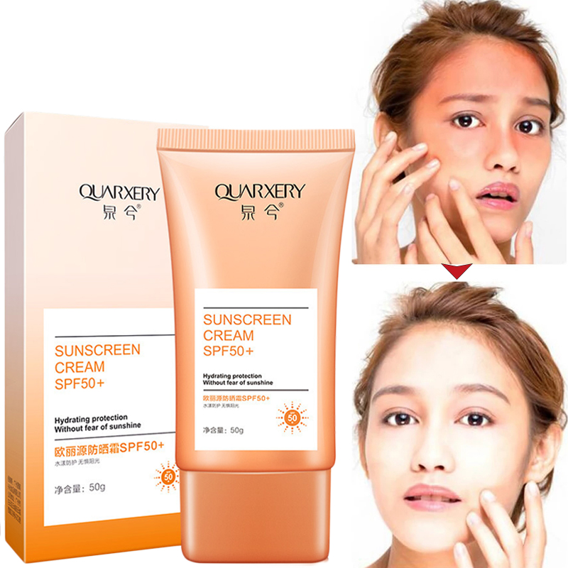 Waterproof Body Face Sunscreen Cream Skin Care Whitening Creams Sunblock Skin Protective Creams Moisturizing Britening Sun Cream