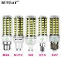 Более яркий SMD5736 светодиодная лампа E27 E14 LED G9 ПРИВЕЛО GU10 ПРИВЕЛО B22 3 Вт 4 Вт 5 Вт 7 Вт 10 Вт светодиодная лампа 90-260 В SMD5730 свечи прожектор
