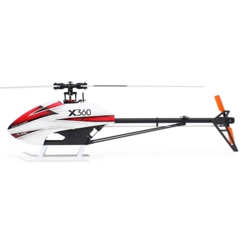 2018 Новый ALZRC X360 FBL 6CH 3D 360 мм несущего винта Радиоуправляемый вертолет комплект для елочные игрушки