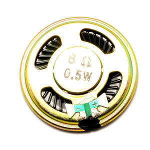 1 pcs 4 CM 0.5 watts small horn speaker thickness 5mm Diameter 8 euro 8R 0.5 W