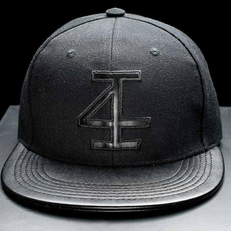 Prix pour Chapeau de mode hommes d'été automne coton caps numéro solide adulte casquette de baseball noire chapeau snapback hommes gymnases cap 2017
