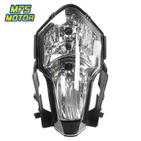 Headlight For 08 13 KTM 1190 RC8 Motorcycle Front Lamp Assembly Upper Headlamp Head Light Housing 2008 2009 2010 2011 2012 2013