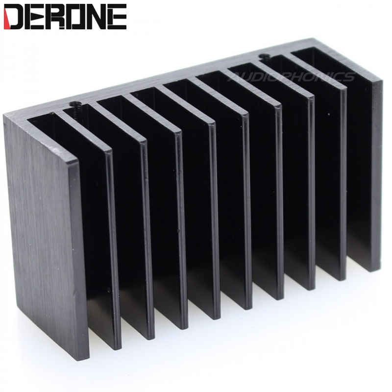buy amplifier radiator op amp radiator aluminum heat sink for lm1875 lm4766. Black Bedroom Furniture Sets. Home Design Ideas