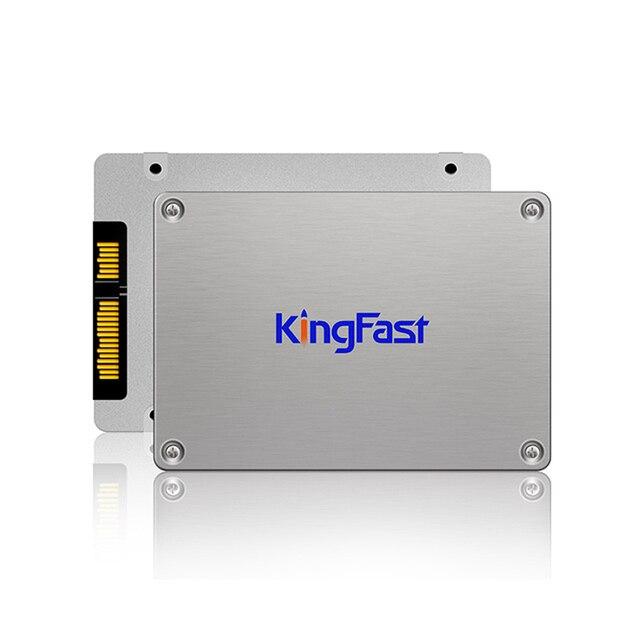 """Kingfast metal 2.5 """"interna 128 gb ssd sataiii 6 gb/s disco duro de estado sólido de alta velocidad con cache128mb para el ordenador portátil y de escritorio"""