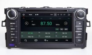 Image 5 - HIRIOT Android 10 автомобильный DVD GPS плеер для TOYOTA AURIS 07 11 Octa 8 Core 4 Гб + 64 ГБ + DSP навигации BT WI FI Мультимедиа Стерео авто