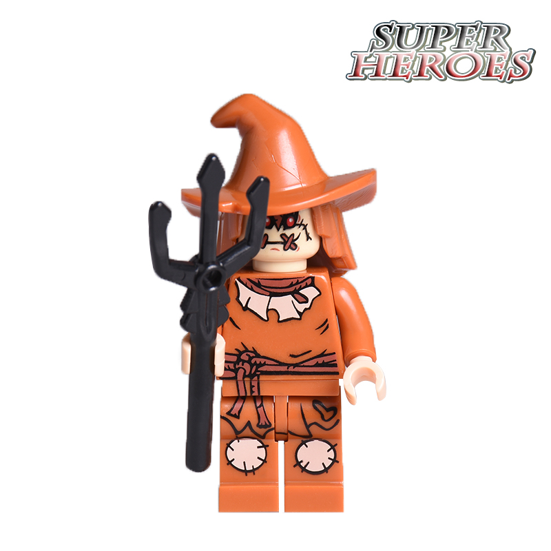 Scarecrow Diy figures Killer Moth Suicide Squad Strange Doctor Super Heroes Building Blocks Kids Educational Toys Hobbies 899C-2 building blocks pg966 the twelfth doctor idea021 doctor who set 21304 super hero action bricks kids diy educational toys hobbies