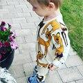 2015 outono do bebê da menina do menino roupas de manga Longa Top + calças 2 pcs terno esporte roupa do bebê set bebê recém-nascido roupas bebe