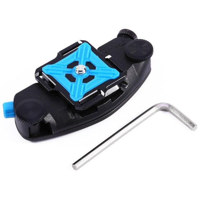 Quick Release Shoulder Waist Belt Strap Buckle Hanger Holder Tripod Mount for DSLR for Gopro Hero 4 for Xiaomi Yi Camera