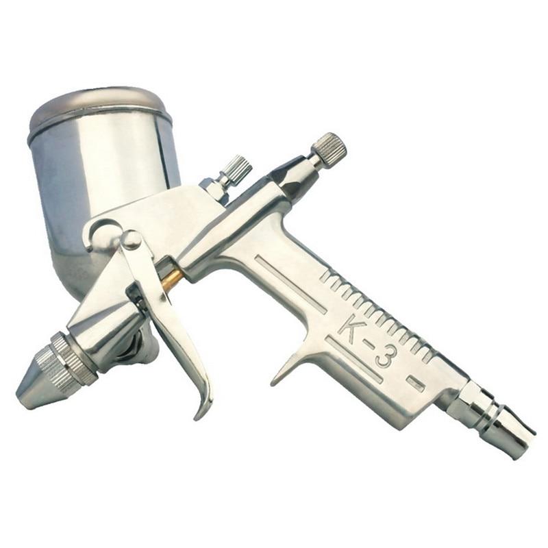 Image 5 - 125ml Spray Gun Sprayer Air Brush Aerografo Paint Tool Gravity Feeding Airbrush Gun Penumatic Furniture for Painting Cars-in Spray Guns from Tools