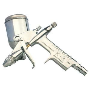Image 5 - Pulvérisateur à Air, outil de peinture pour aérographe, outil de peinture, alimentation par gravité, meubles à percussion, 125ml
