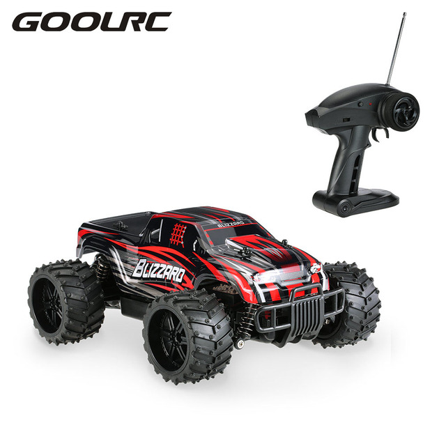 Rc Car Batteries >> Original High Speed Off road Monster Mini RC Car RC Remote Control Cars SUV S727 27MHz 1:16 20km ...