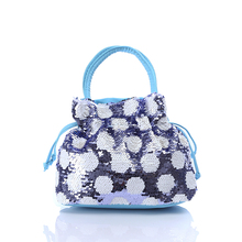2019 New Kid Mini Purse Handbag Tote Cute Women Girls Sequin