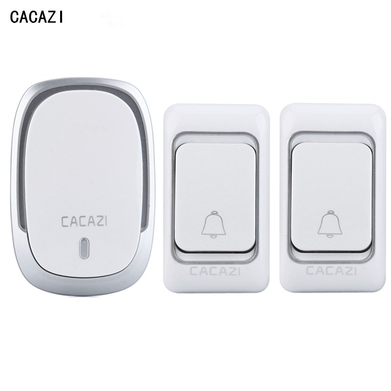 Wireless Doorbell Waterproof DC 200m remote control Door Bell Range for Home Office 36 ringtones  2 transmitters+1 receiver альфапластик дельфин р 38 40