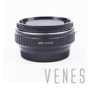 Image 1 - VENES MD עדשה כדי M4/3 מוקד מפחית מהירות מאיץ, מתאם טבעת עבור מיקרו ארבעה שלישים 4/3 מצלמה, עבור Panasonic LUMIX GX9 GX85