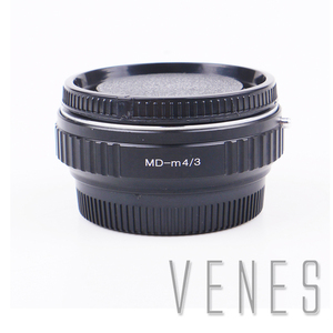 Image 1 - VENES MD lens M4/3 odak düşürücü hız yükseltici, adaptör halkası mikro dört Thirds 4/3 kamera, Panasonic LUMIX GX9 GX85