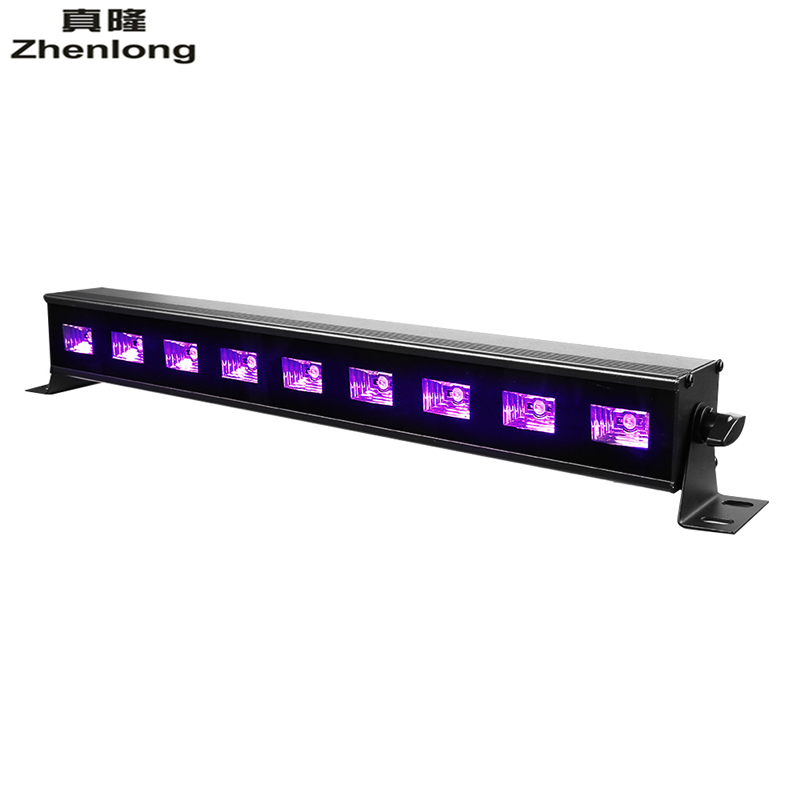 New UV Black /White Stage Lighting Effect AC90V-240V Led Stage Light 9Leds 27W Wall Washer Lights for Party,DJ,Show,House Disco 9ledx3w uv wall washer led stage bar light for outdoor indoor decoration