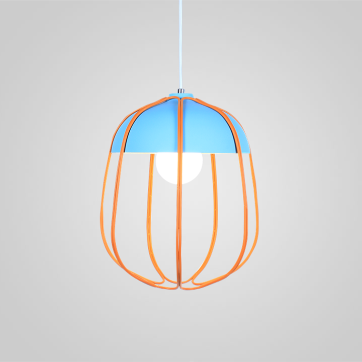 Scandinavian personality design color lamp decoration cage lamp  modern light fixture  cafe pendant light  bird lamp hangingScandinavian personality design color lamp decoration cage lamp  modern light fixture  cafe pendant light  bird lamp hanging