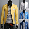 FREE SHIPPING ! Stylish Men Slim Fit Causal Business Suit Formal Blazer Men Coat Jacket