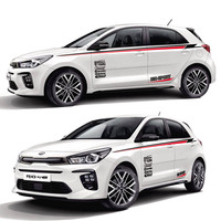TAIYAO car styling sport car sticker For KIA RIO accessories and decals auto sticker