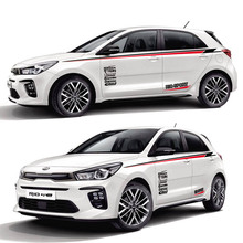 цена на TAIYAO car styling sport car sticker For KIA RIO accessories and decals auto sticker