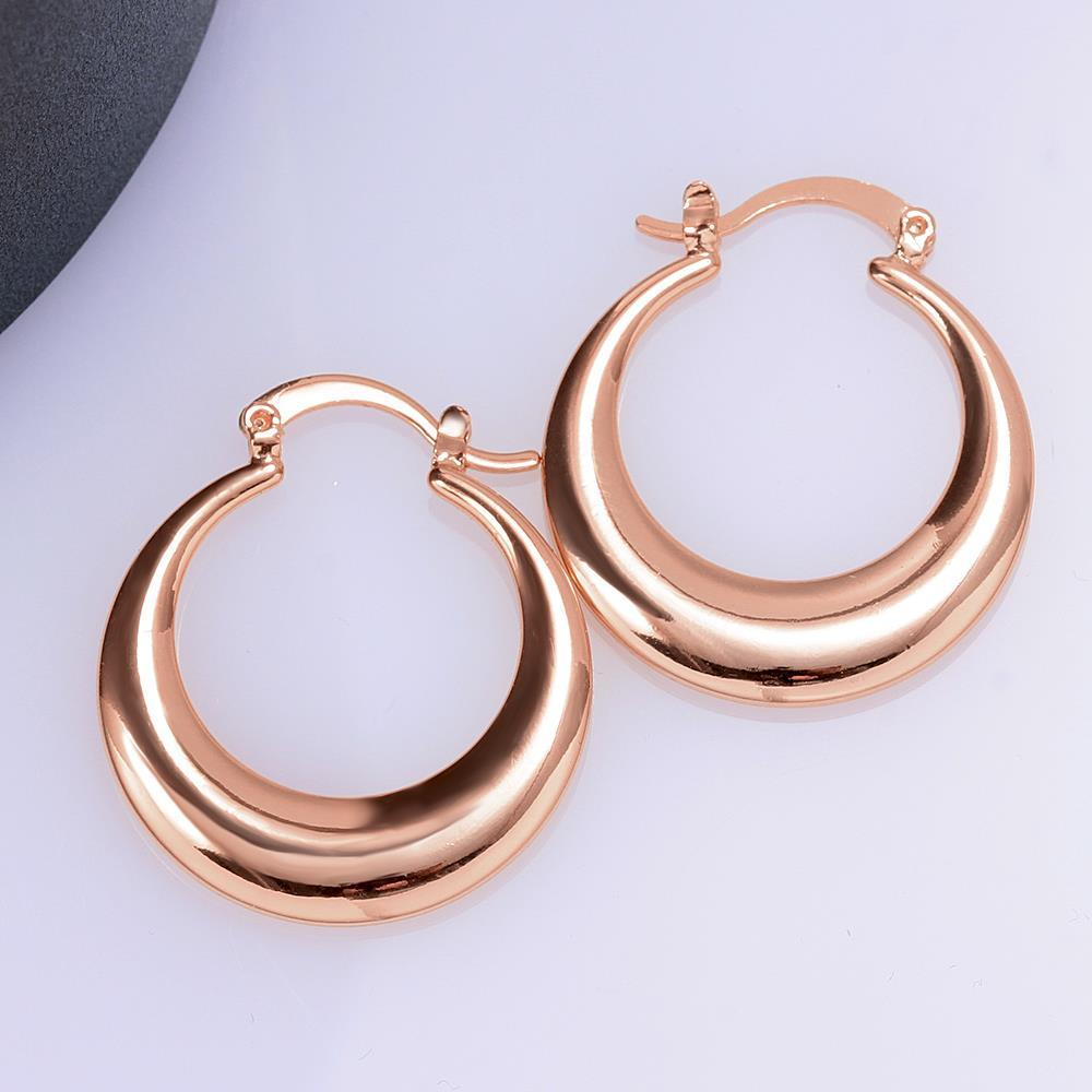 d4009264f1466 US $2.79 44% OFF|Crescent Moon Round Creole Hoop Earrings for Women Silver  Color Big Earring European Brand Fashion Statement Jewelry Gifts-in Hoop ...