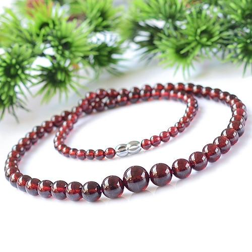 4-14mm Grade AAA natural garnet beads bracelets bangles gem bracelets for women garnet necklace tower chain vintage jewelry цена 2017