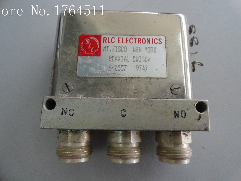 [BELLA] RLC S-2557 DC-18GHZ SPDT 28V N Connector