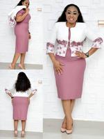 2019 new arrival elegent fashion style african women plus size dress L 5XL