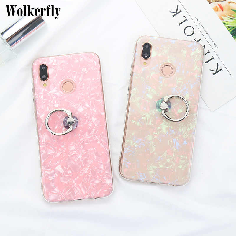 Glitter Case For Huawei P10 P20 Lite Mate 10 20 Pro P Smart Honor 8X 7X 7A 7C 6C Pro 10 9 Lite Y9 2018 On Nova 3 3i Holder Cover