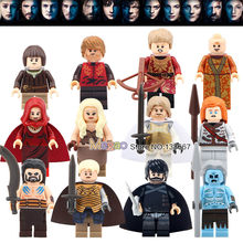 Game Of Thrones Single Sale Figure Khai Drago Daenerys White Walker Jaime Ice And Fire Building Block Model Toys LEGUO(China)