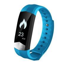 Bluetooth браслет Фитнес трекер сна ЭКГ Heart Rate Приборы для измерения артериального давления Мониторы шагомер Водонепроницаемый спортивные смарт-браслет