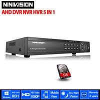 HD AHD NH 1080N 720P HDMI 1080P CCTV Digital Video Recorder 8CH 8Channel AHD DVR NVR