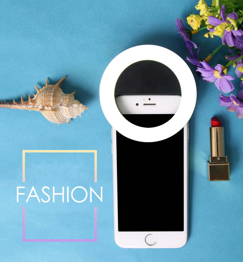 TOKOHANSUN Usb Charging Selfie Ring Led Phone Light Lamp Mobile Phone Lens LED Sefie Lamp Ring Flash Lenses for Iphone Samsung-in Mobile Phone Lenses from Cellphones & Telecommunications on Aliexpress.com | Alibaba Group 2