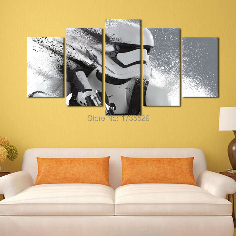 Beautiful Star Wars Wall Decor Ideas - All About Wallart ...