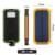 20000 mah nuevo banco portable externo del cargador solar resistente al agua sol más rápido cargador de batería para teléfono móvil iphone samsung