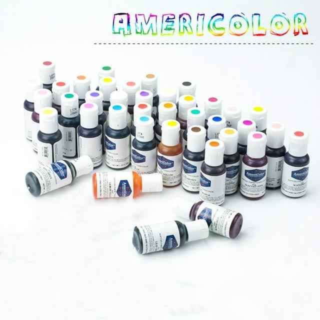 Spedizione Gratuita In America Americolor Pigmento Commestibile Naturale 41 colo