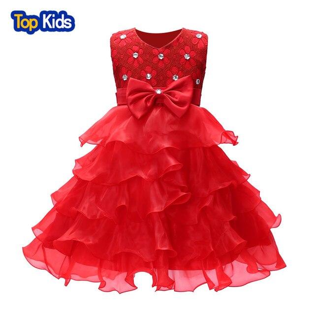 Girl Dress 2018 Sleeveless Kid Dresses Girls Clothes Party Princess  Vestidos Nina 6 7 8 year birthday Dress BB160 d41318f2090a