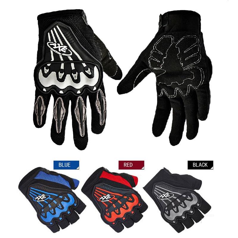 2019 sommer Volle finger moto rcycle handschuhe, schwarz rot blau moto moto kreuz moto rbike halbe finger handschuhe moto rcyclist M L XL
