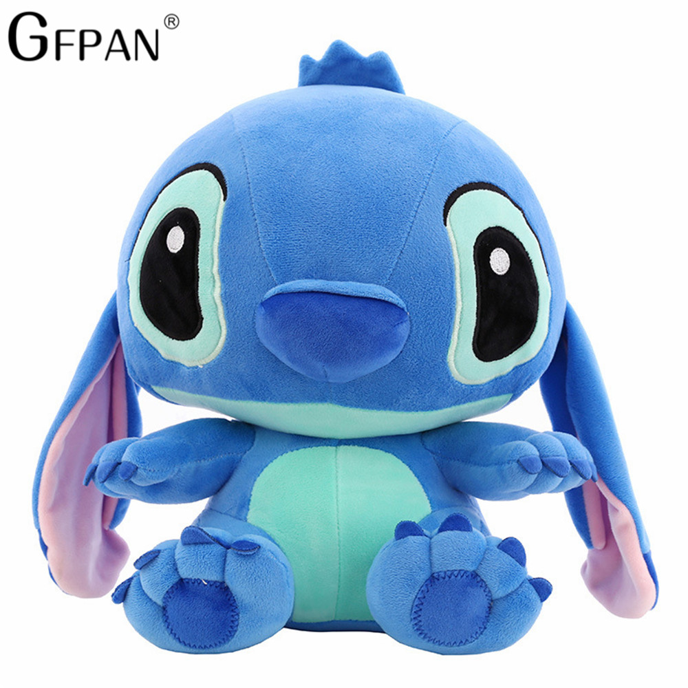 Huge Size 80cm Lovely Stitch Plush Doll Anime Lilo and Stitch Cute Stich Stuffed Cartoon Toys for Children Kids Birthday Gift - 6