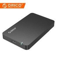 ORICO USB в SATA 3,0 2,5 корпус для жесткого диска 5 Гбит/с, высокая скорость HDD случае инструмент Бесплатная поддержка UASP для оконные рамы 10/8/7/Vista/XP или...