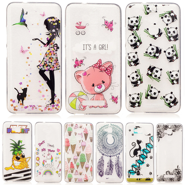for ASUS X008D Zenfone 3 Max ZC520TL ZC ZC520 520TL TL TPU Case Silicone Cover Phone Cases for ASUS_X008D ASUS_X008DA Coque Bags