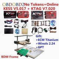 Unlimited Online Kess V5 017 V2 23 Ktag V7 020 V2 23 OBD2 Manager Tuning Kit