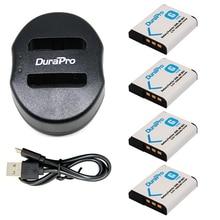 4 шт. NP-BG1 NP BG1 BG1 Перезаряжаемые литий-ионный Батарея + Портативный Dual USB Зарядное устройство для SONY hx10 W30 dsc-w210 W100 W110 W120 H10 0036