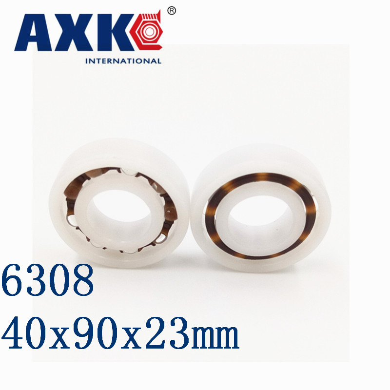 2018 Time-limited New Arrival Rolamentos Axk 6308 Pom (10pcs) Plastic Ball Bearings 40x90x23mm Glass Balls 40mm/90mm/23mm 2018 hot sale time limited steel rolamentos 6821 2rs abec 1 105x130x13mm metric thin section bearings 61821 rs 6821rs